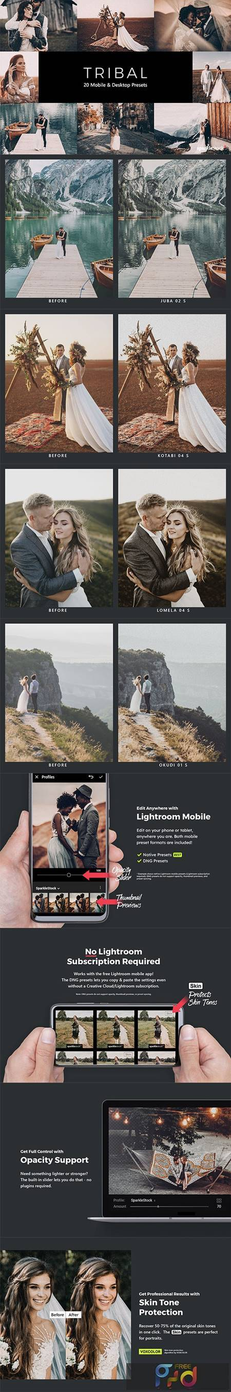 20 Tribal Lightroom Presets & LUTs 28876947 1