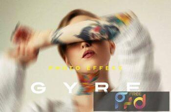 Twisted Photo Effect Z39RUD9 4