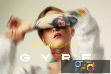 Twisted Photo Effect Z39RUD9 1