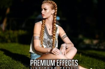 Premium Effects Lightroom Presets 5RR53LG 6