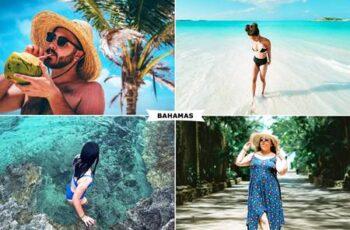 Bahamas Photoshop Action 4948763 3
