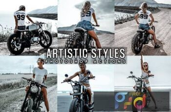 Artistic Lifestyles Photoshop Actions 9NNCW4V 3