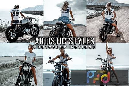 Artistic Lifestyles Photoshop Actions 9NNCW4V 1
