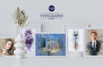Typography (Numeric) Photoshop Action 28477619 5