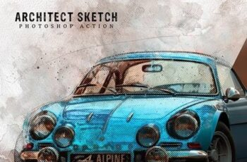 Architect Sketch Photoshop Action 28522875 4