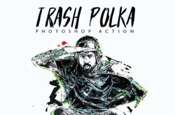 Trash Polka - Photoshop Action 28522170 7
