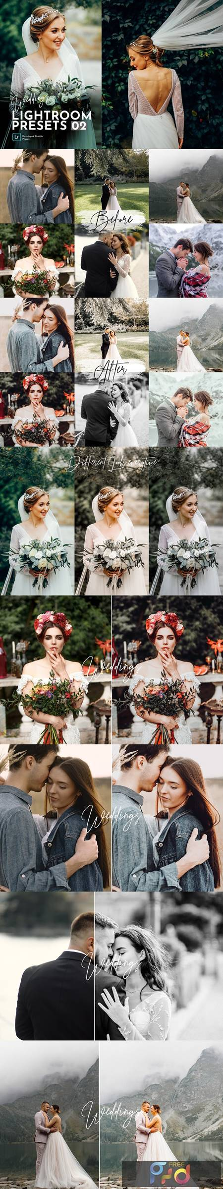 Weddings Lightroom Presets Pack 5469822 1