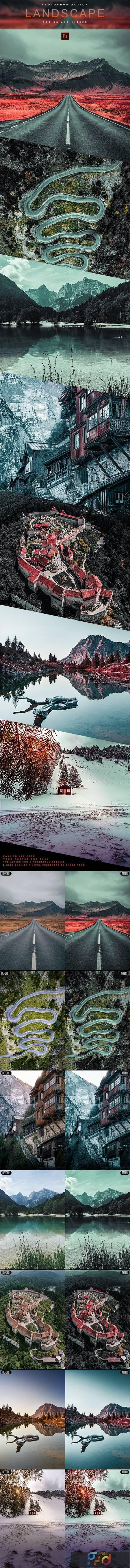 Landscape - Photoshop Action 28868473 1