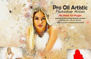 Pro Oil Artistic Photoshop Action 5275731 4