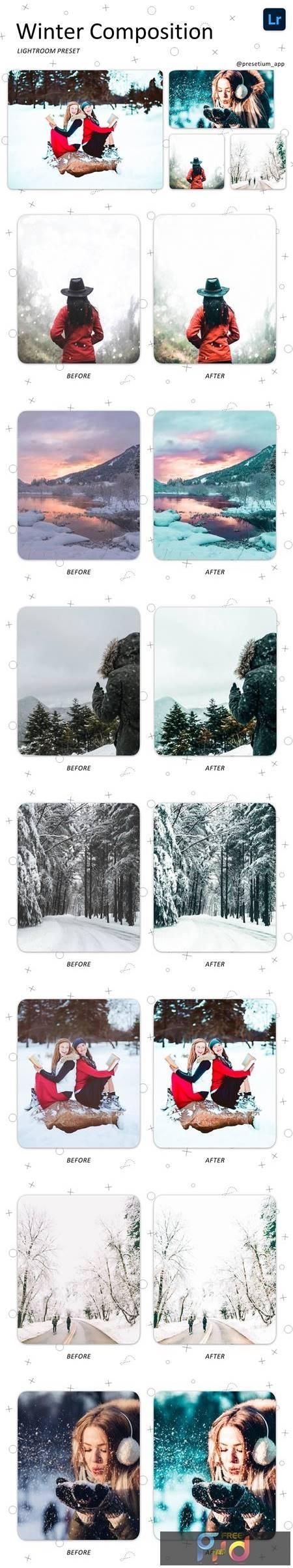 Winter Composition - Lightroom Presets 5223587 1