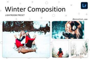 Winter Composition - Lightroom Presets 5223587 7