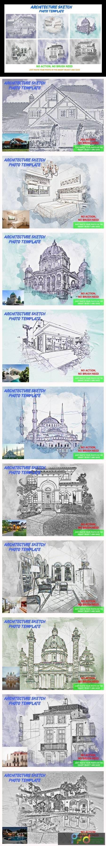 Architecture Sketch Photo Template 4545095 1