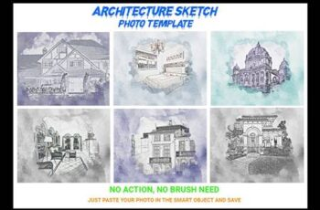 Architecture Sketch Photo Template 4545095 2