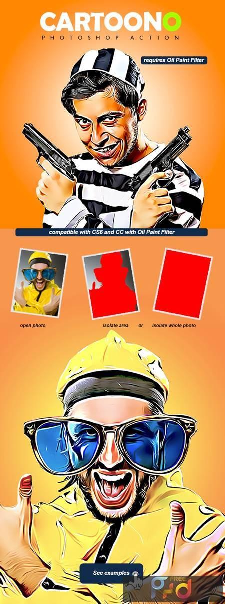 Cartoono - Photoshop Action 28715787 1