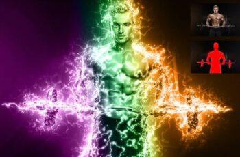 Electricity Lightning Effect 28708092 1