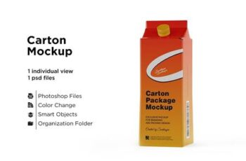 Carton Package With Plastic Cap 5558122 6