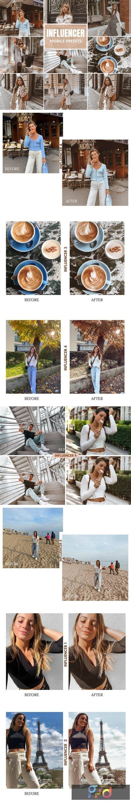 Influencer Mobile Lightroom Presets 5518539 1