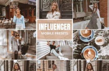 Influencer Mobile Lightroom Presets 5518539 2