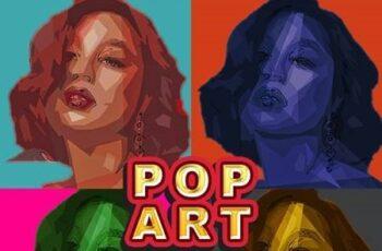 Pop Art Photo Effect 28673407 14