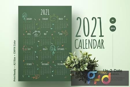 Calendar 2021 GZXZ7QB 1