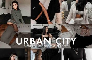 5 URBAN CITY LIGHTROOM PRESET 5277226 2