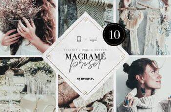 Macramé Lightroom Presets Bundle 5251195 4