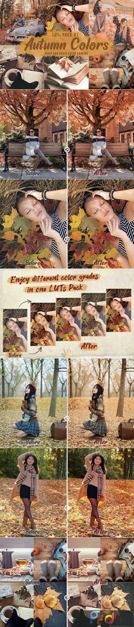 Autumn Colors - LUTs Pack 1 XGS5R9J 1