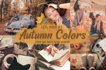 Autumn Colors - LUTs Pack 1 XGS5R9J 2