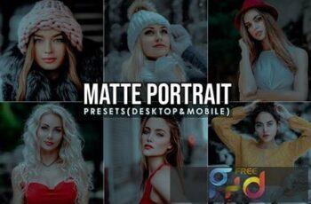 Matte Portrait Lightroom Presets 2CAK7RQ 6