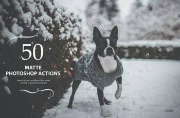 50 Matte Photoshop Actions JLXCRCR 4