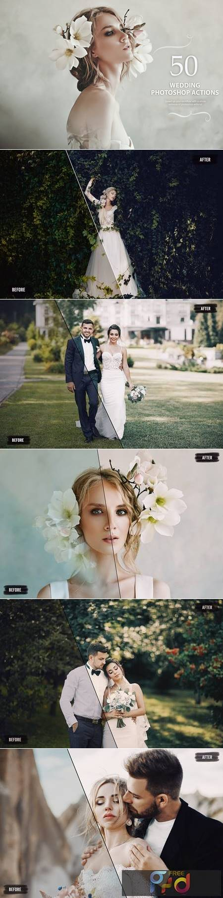 50 Wedding Photoshop Actions NS9NTPR 1