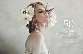 50 Wedding Photoshop Actions NS9NTPR 6