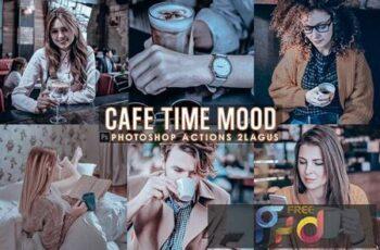 Cafe Time Photoshop Actions 8VNLPD8 15
