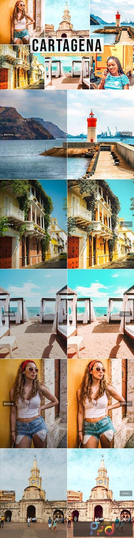 Cartagena Mobile & Desktop Lightroom Presets NWVDQCB 1