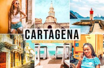 Cartagena Mobile & Desktop Lightroom Presets NWVDQCB 3