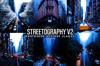 Streetographie V2 - Cinematic Photoshop Actions 29137648 5