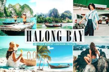 Halong Bay Mobile & Desktop Lightroom Presets Z967HJ9 1