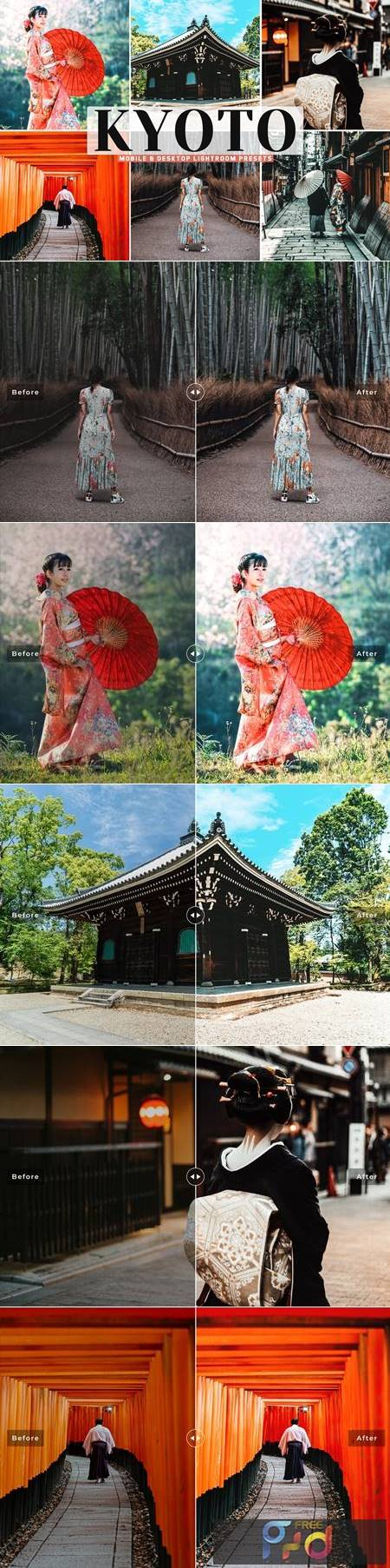 Kyoto Mobile & Desktop Lightroom Presets FJD847Q 1