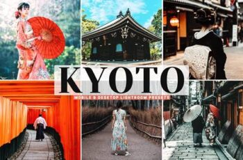 Kyoto Mobile & Desktop Lightroom Presets FJD847Q 7