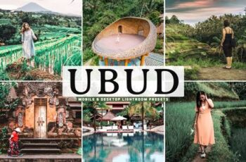 Ubud Mobile & Desktop Lightroom Presets EPCTQJZ 7
