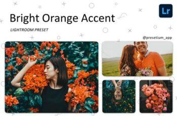 Bright Orange - Lightroom Presets 5219795 3