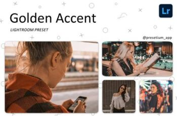 Golden Accent - Lightroom Presets 5220742 6