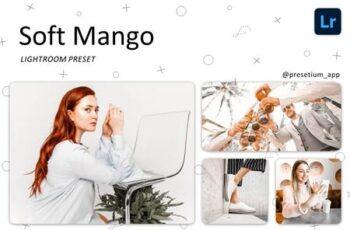 Soft Mango - Lightroom Presets 5219732 4