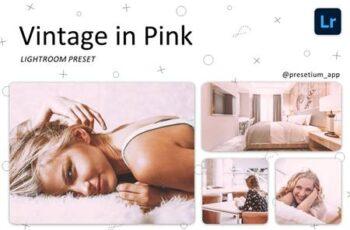 Vintage in Pink - Lightroom Presets 5219710 6