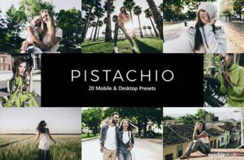 20 Pistachio Lightroom Presets & LUTs 5577096 2