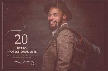 20 Retro LUTs Pack 5602665 1