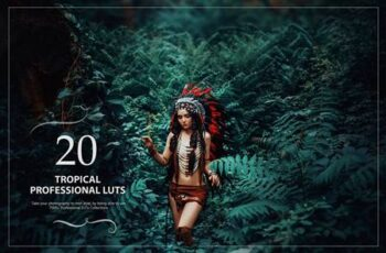 20 Tropical LUTs Pack 5602683 15