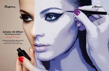 Artistic Oil Effect Photoshop Action 5357821 5
