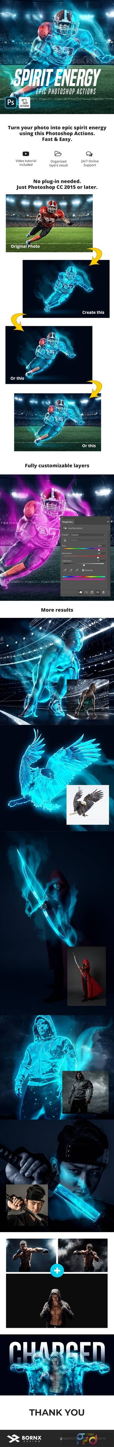 Spirit Energy Photoshop Action 29050788 1