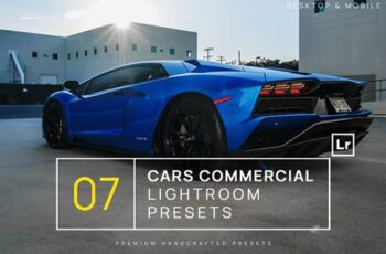 7 Cars Commercial Lightroom Presets + Mobile 5C3RV64 6